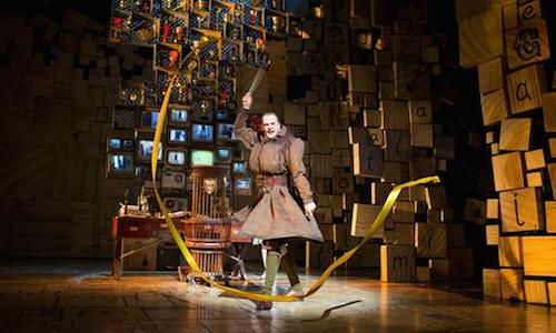 As Miss Trunchall in Matilda The Musical / RSC